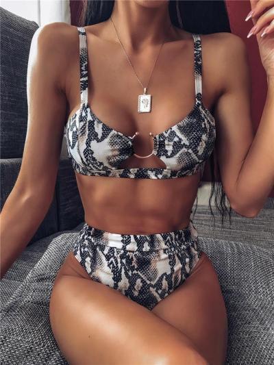 Summer Sexy Leopard Bikini Swimwear