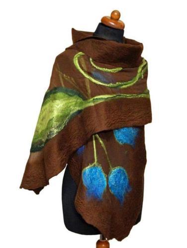 Stylish Floral Printed Blanket Scarves & Shawls