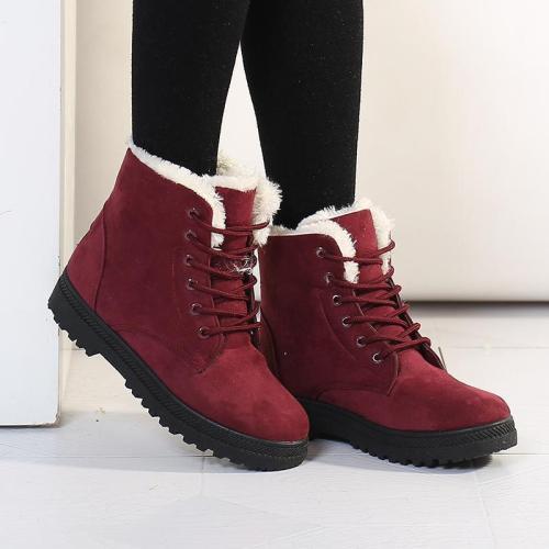 Women's Flat  Snow  Boots