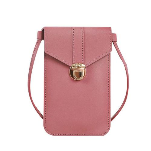 Clear Window Phone Holder Shoulder Crossbody Small Bag