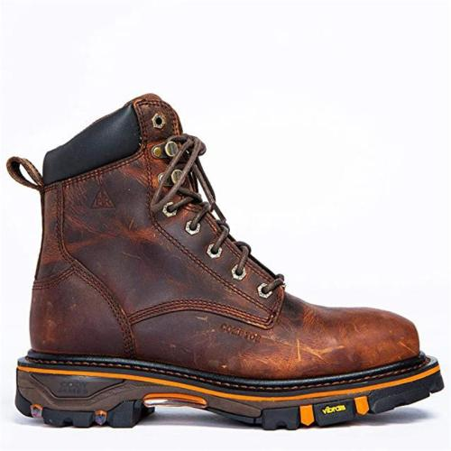 Men's Retro Style Durable Leather Work Boots