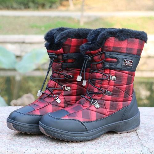 Waterproof Non-slip Beef Tendon Bottom Outdoor Climbing Cotton Boots