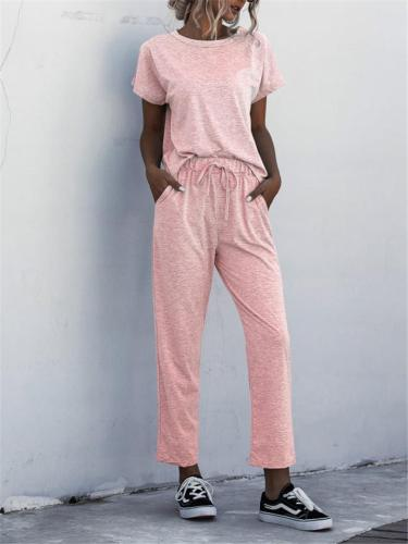 Solid Color casual Suit For Women