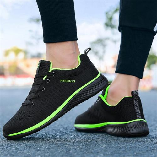 Trendy Casual Lace Up Lightweight Sneakers