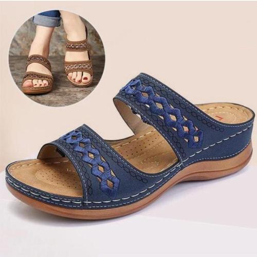 Women's Fashion Soft Wedge Heel Sandals