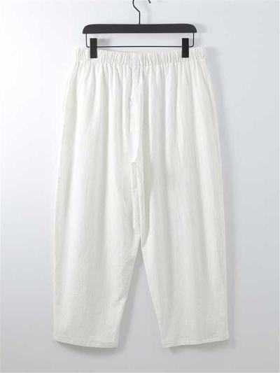 Comfy Slim Fit Plain Loose Linen Print V-Neck Sets