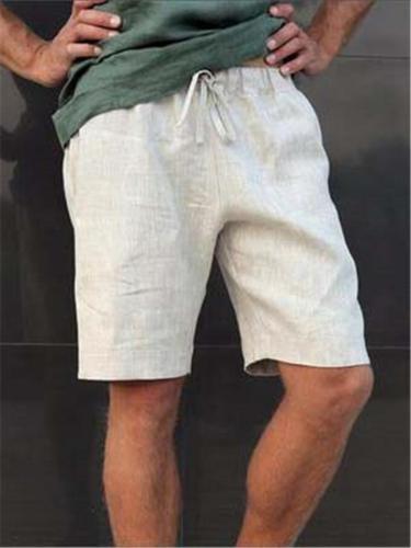Casual Loose Elastic Waist Sports Daily Shorts