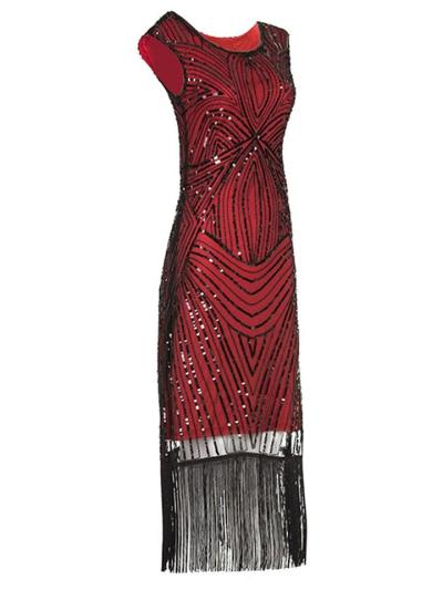 Decent Sequin Flapper Gatsby 1920s Dress For Prom