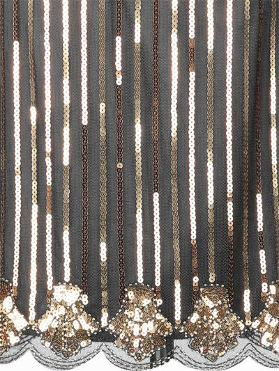 Shiny Flapper Sequined Sleeveless 1920s Dress for Cocktail Party