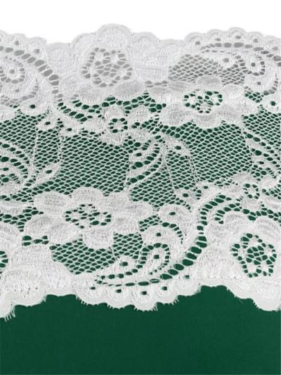 1950S Off Shoulder Button Half Sleeve Lace Floral Dress
