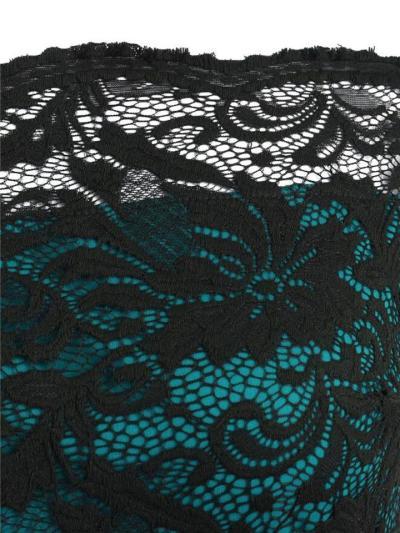 Elegant 1950S Belted Lace Off Shoulder Dress