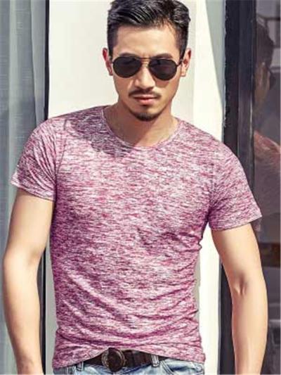Fashion Slim Fit Breathable Short Sleeve T-Shirts