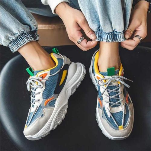 Casual Fashion Patchwrork Sneakers