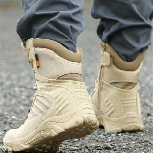 Non Slip Outdoor Tactical Climbing High Top Combat Boots