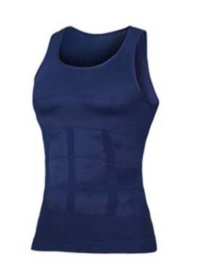 Compression Shirt Slimming Body Shaper Vest Tummy Control Shapewear