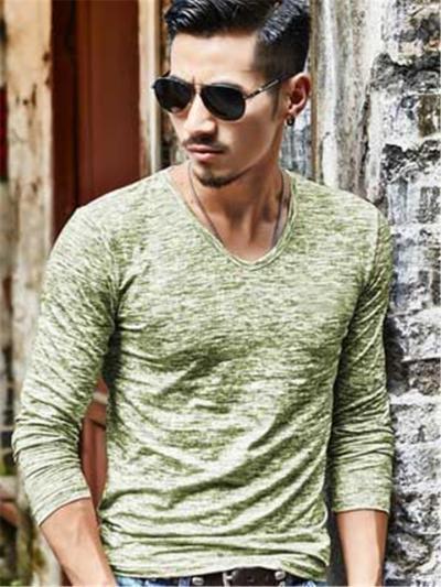 Fashion Slim Fit Breathable Long Sleeve T-Shirts