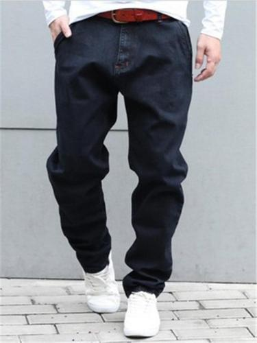 Loose Hip Hop Skating Denim Trousers