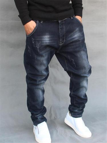 Loose Hip Hop Fashion Street Jeans