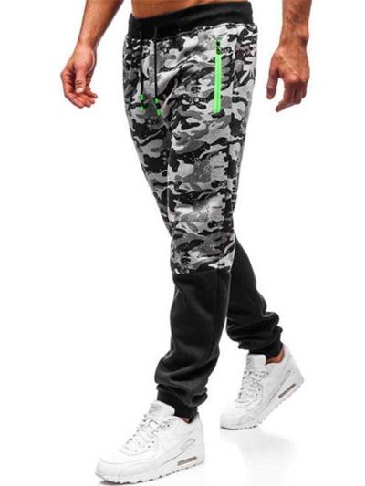 Slim Fit Hip Hop Camo Personaity Workout Pants