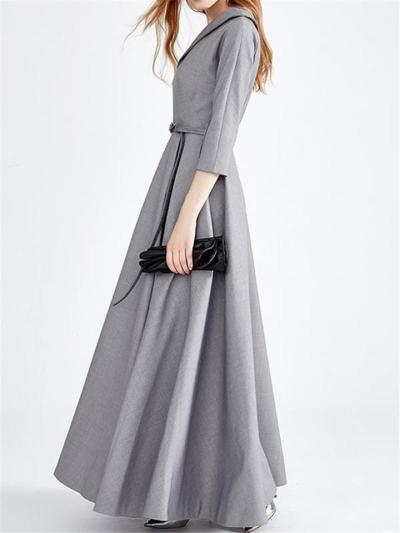 Gorgeous Asymmetric Design Fitted Waist Pleated Dress for Prom