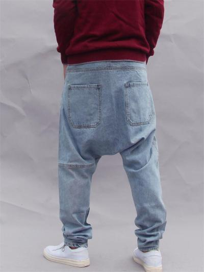 Mens Fashion Hip Hop Baggy Street Jeans