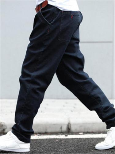 Loose Hip Hop Skating Denim Trousers