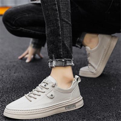 Casual Non Ship Soft Stitching Lace Up Shoes