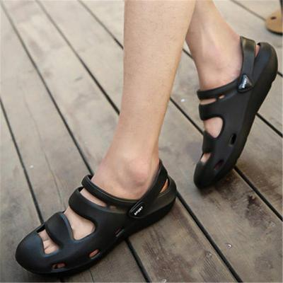 Hollow Out Breathable Pure Color Sandals