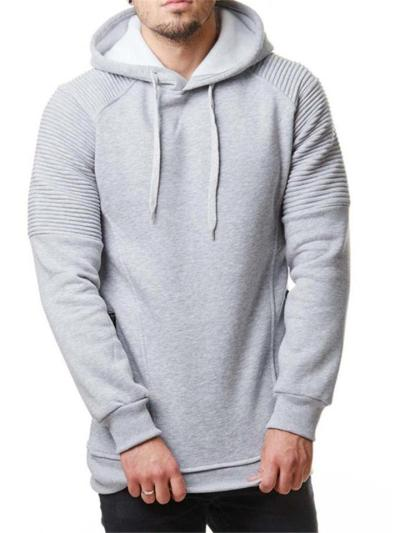 Casual Personality Long Sleeve Drawstring Sports Hooded Hoodies