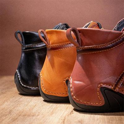 Fashion Soft Sole Non Slip Lace Up Casual Shoes