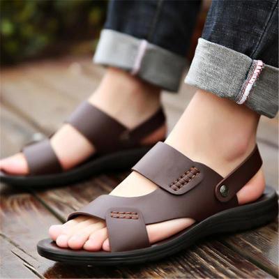 Soft Non Slip Breathable Plain Casual Sandals