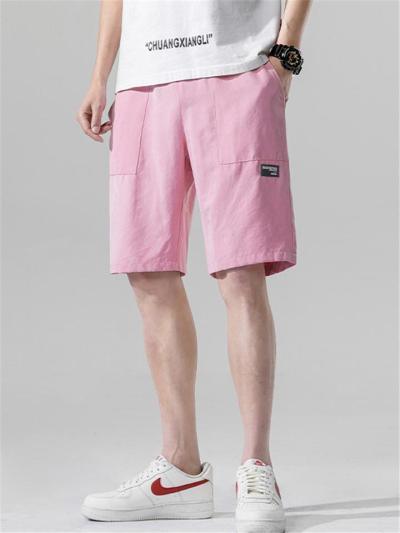 Sports Loose Casual Knee Shorts With Pockets