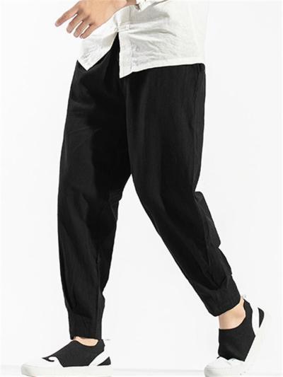 Mens Casual Comfy Lightweight Harem Pants