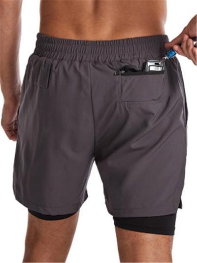 Quick Dry Marathon Jogging Sports Shorts