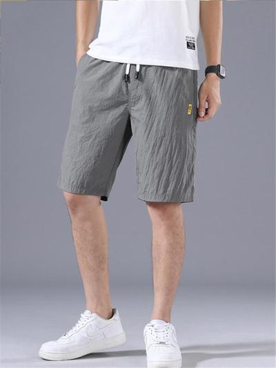 Loose Straight Casual Lightweight Comfy Knee Shorts