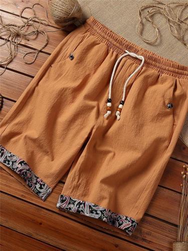 Cotton&Linen Loose Comfy Beach Shorts