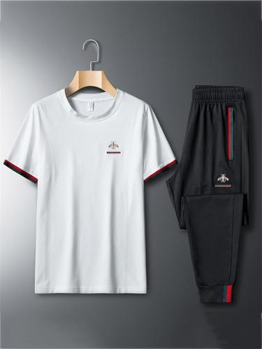 Loose Casual Breathable Lightweight Short Sleeved T-Shirts+Pants