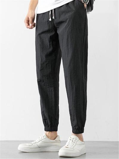 Mens Casual Comfy Loose Lightweight Sports Harem Pants