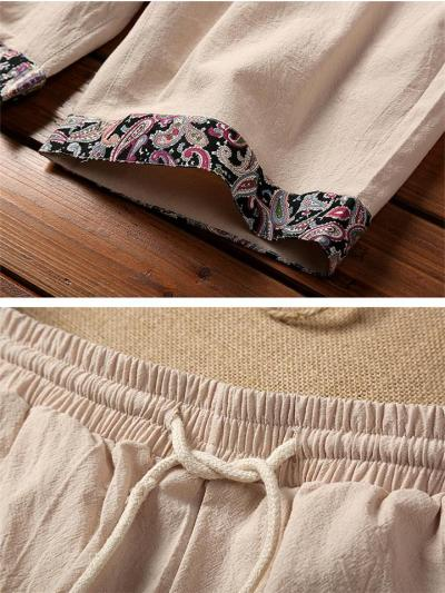 Cotton&Linen Loose Comfy Beach Shorts
