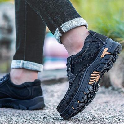 Outdoor Casual Wearable Non Slip Leather Shoes