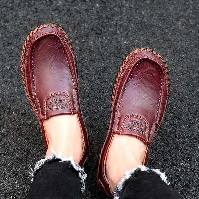 Lightweight Stitching Breathable Comfy Loafers
