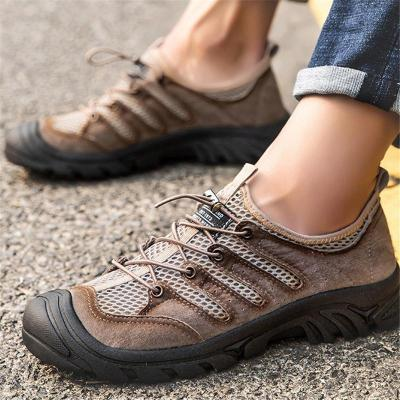 Breathable Climbing Hiking Outdoor Lace Up Sneakers