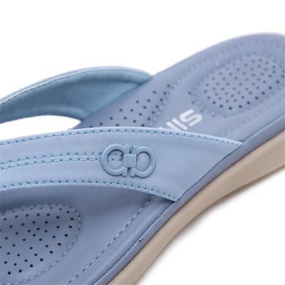 Cushioning Underfoot Stitch Detailing Thong-Style Lightweight FlatFlip-Flops