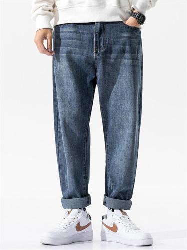 Fashion Loose Casual Straight Denim Pants