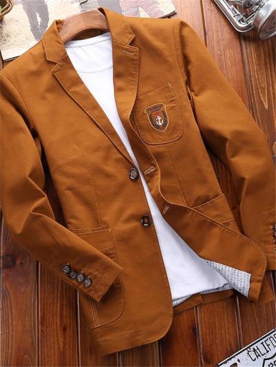 Casual Print Fashion Comfy Cotton Suits For Men