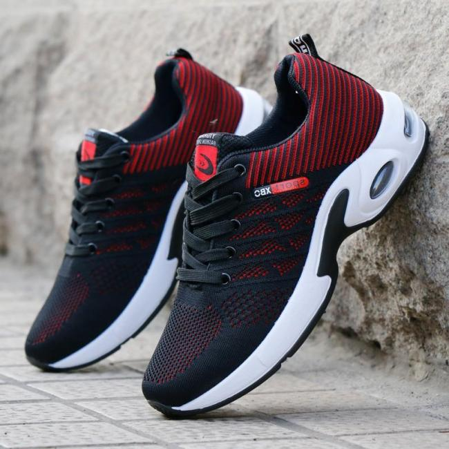 Fashion Breathable Lightweight Non Slip Textile Sneakers