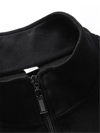 Workout Comfy Plain Long Sleeved Coats+Pants+Hoodies