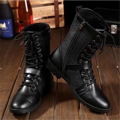 Vintage Non Slip High Top Combat Boots