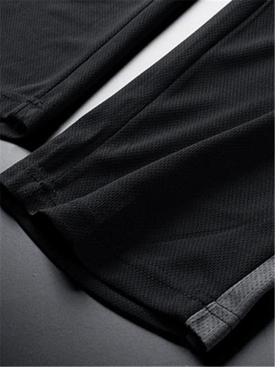 Casual Print Comfy Workout Short Sleeved T-Shirts+Pants+Shorts
