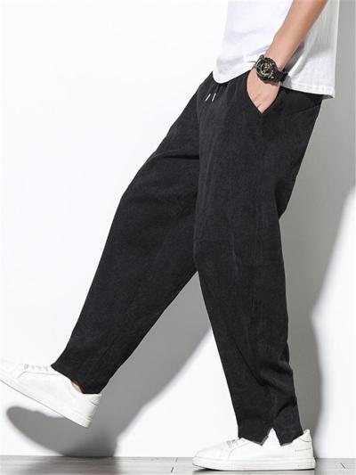 Casual Corduroy Straight Fashion Harem Pants